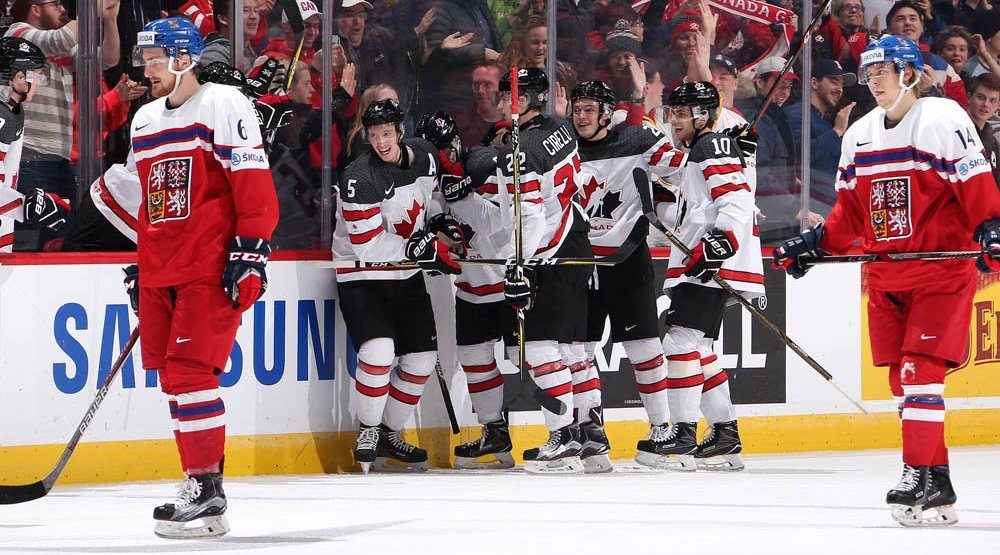 Canada beats Czech Republic, advances to semis at World Juniors