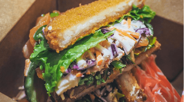 Sushi burgers have officially arrived in Toronto