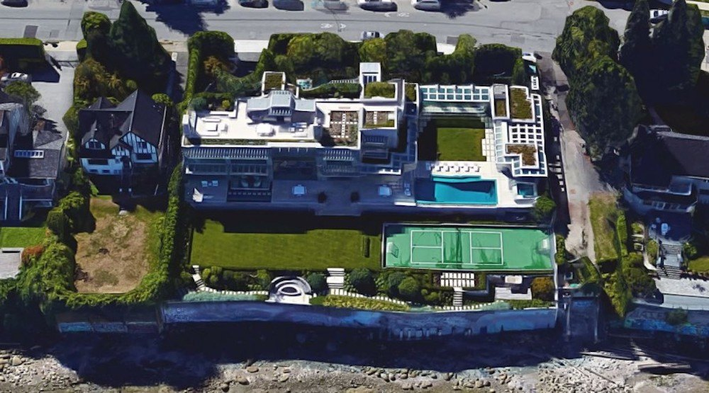 Chip wilson vancouver mansion