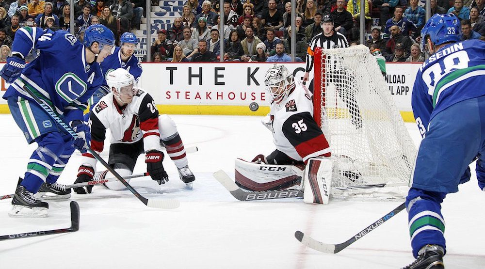 Surging Canucks have playoffs in their sight versus Coyotes