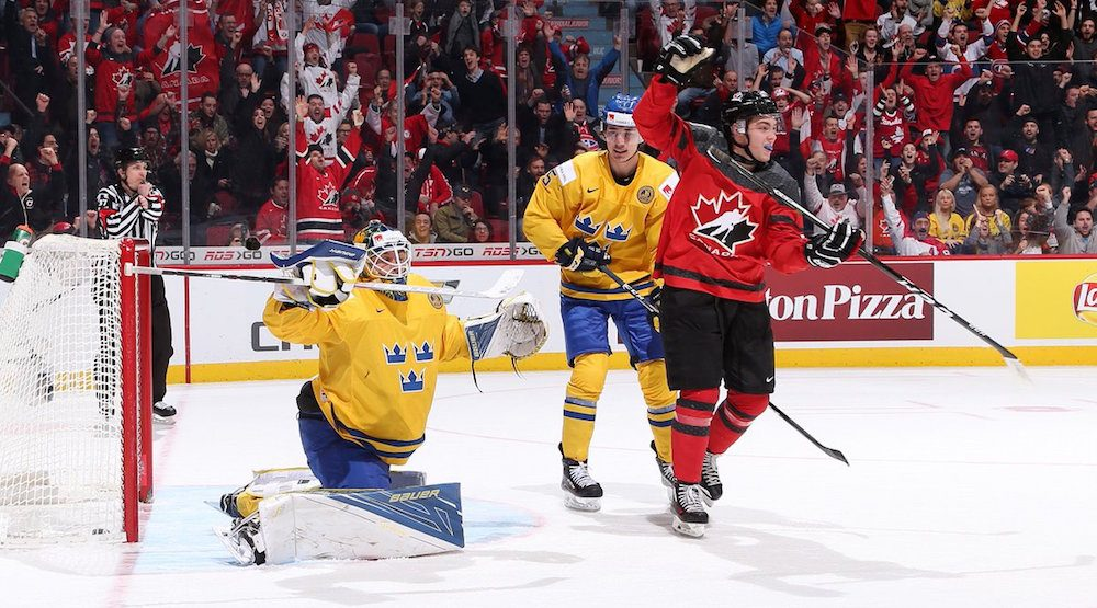 Canada defeats Sweden, advances to gold medal game at World Juniors (HIGHLIGHTS)