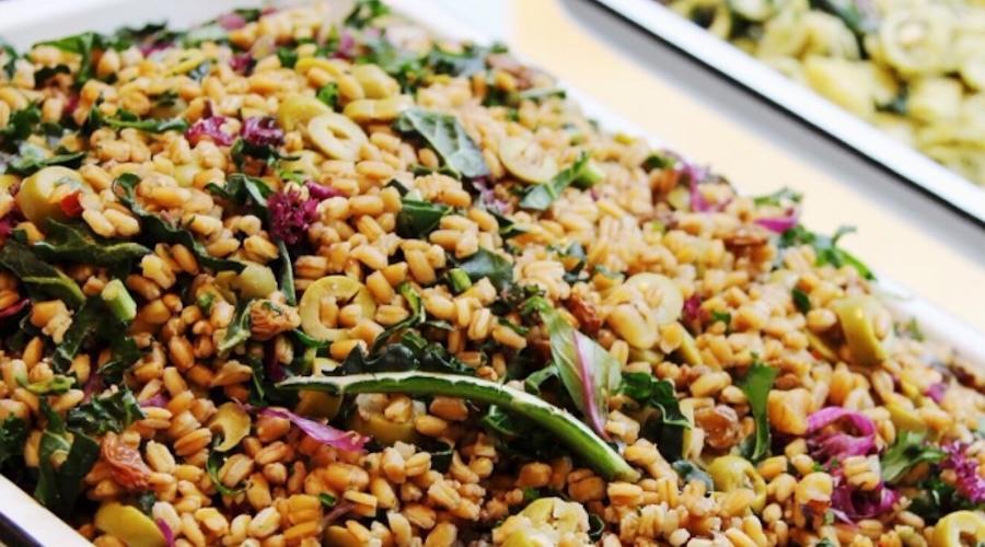 Farro salad dirtbelly yyc
