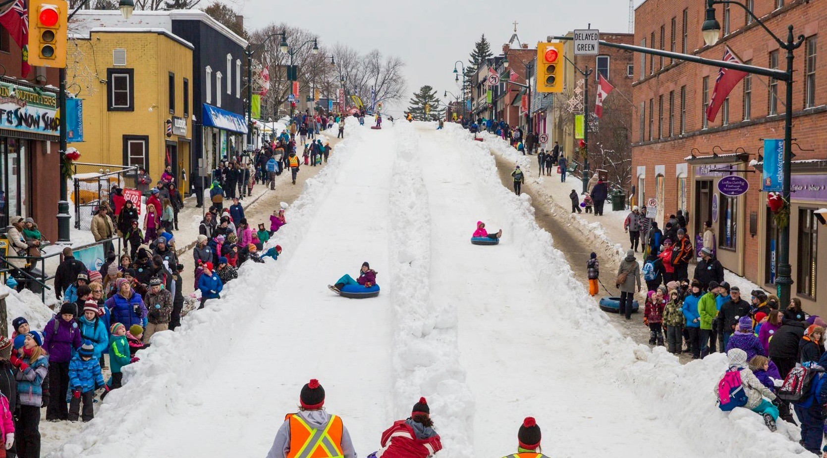 This town 2 hours from Toronto knows how to throw a proper winter festival