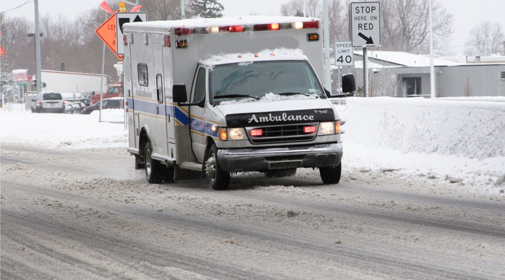 How first responders handle icy streets