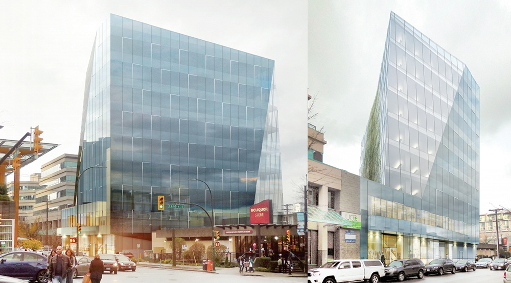 Office building proposed for West 8th Avenue near Cambie Street