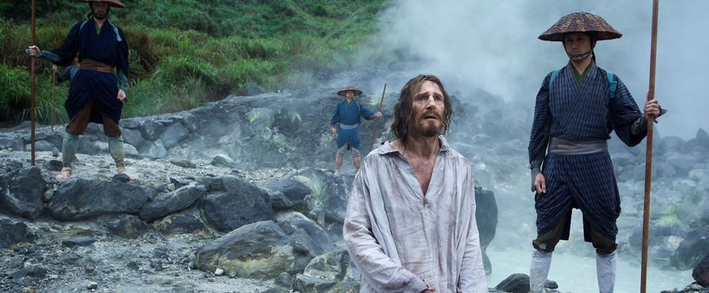 Liam Neeson in Silence, directed by Martin Scorsese - Movie Review