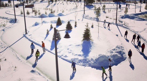 You can skate with Mayor John Tory at his annual Winter Skate Party this weekend