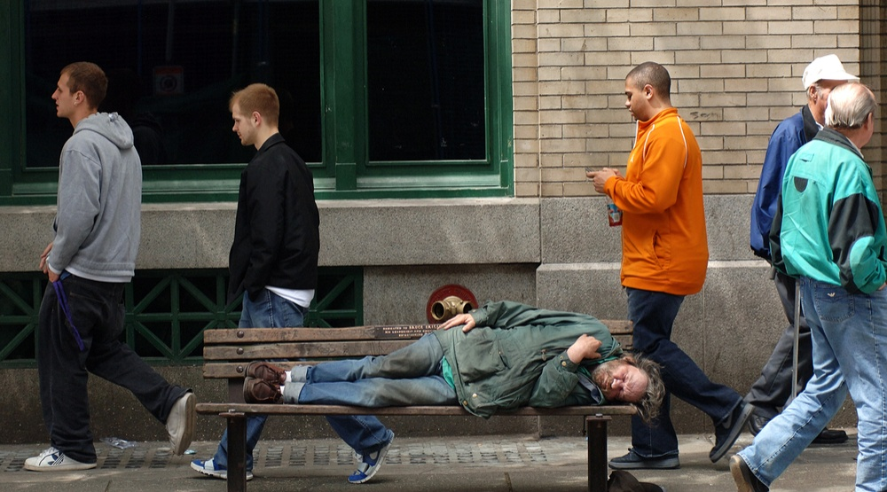 Opinion: We all have a responsibility to help the homeless