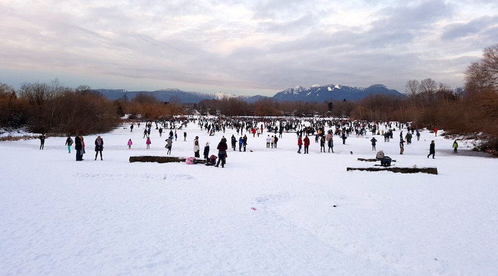 Trout Lake closed to ice skating on Sunday due to safety concerns