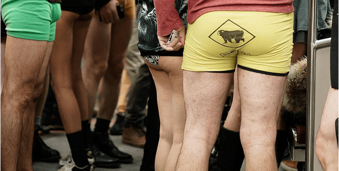11 photos you may (or may not) want to see from Toronto's No Pants Subway Ride