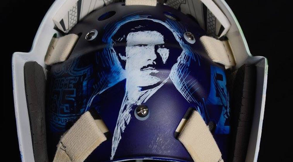 Demko ron burgundy mask