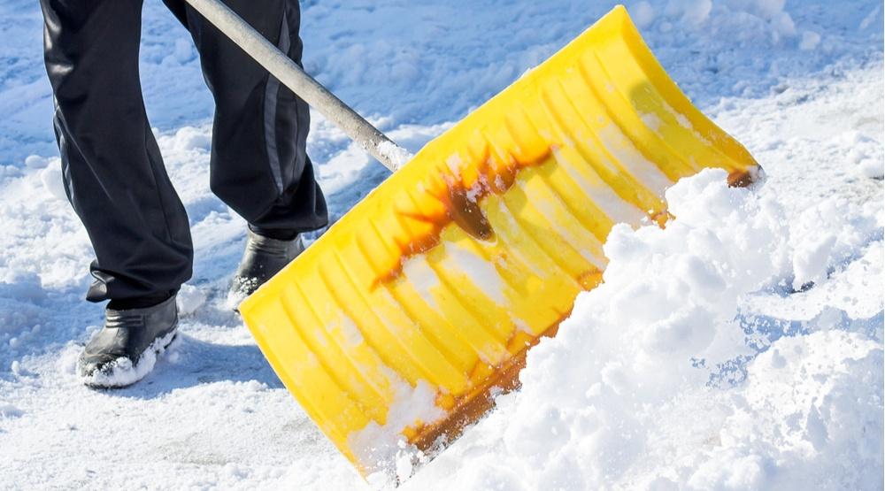 Shovelling snow shutterstock