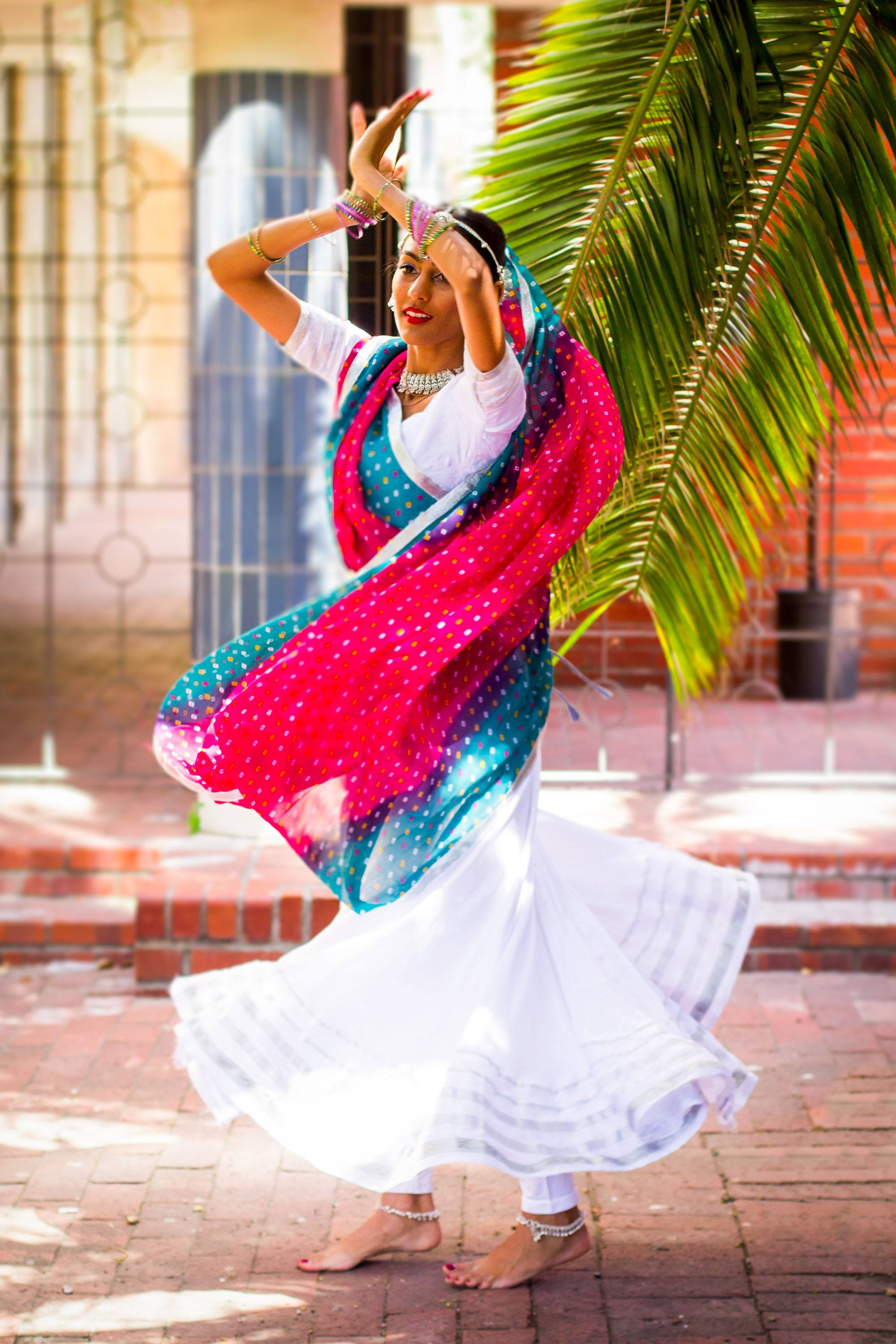 Caught in beautiful flow. Taare is a non-profit Bollywood dance performance troupe based in Cape Town. (Amanda Webb)