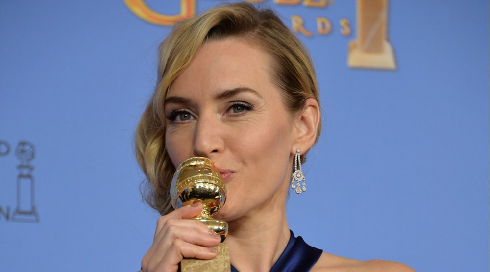 Kate Winslet at the 73rd Annual Golden Globe Awards at the Beverly Hilton Hotel. (Featureflash Photo Agency/Shutterstock)