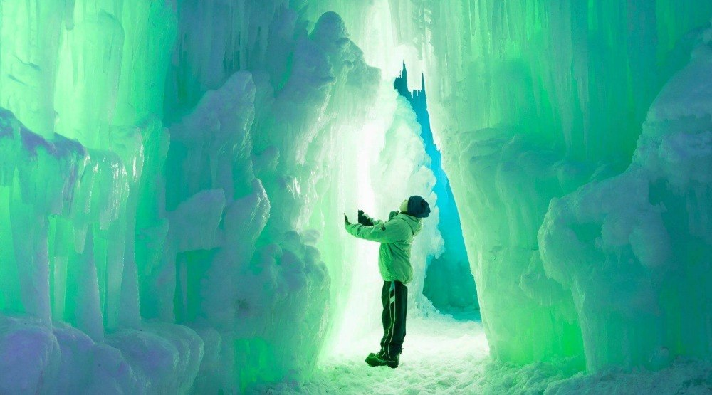 Edmonton's Ice Castles will not be returning this year due to the pandemic