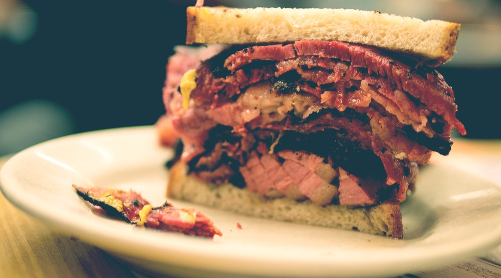 Where to get a hot pastrami sandwich in Vancouver