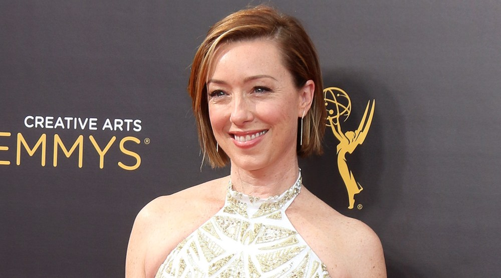 Molly Parker at the 2016 Creative Arts Emmy Awards - Day 1 - Arrivals at the Microsoft Theater on September 10, 2016 in Los Angeles, CA (Helga Esteb/Shutterstock)