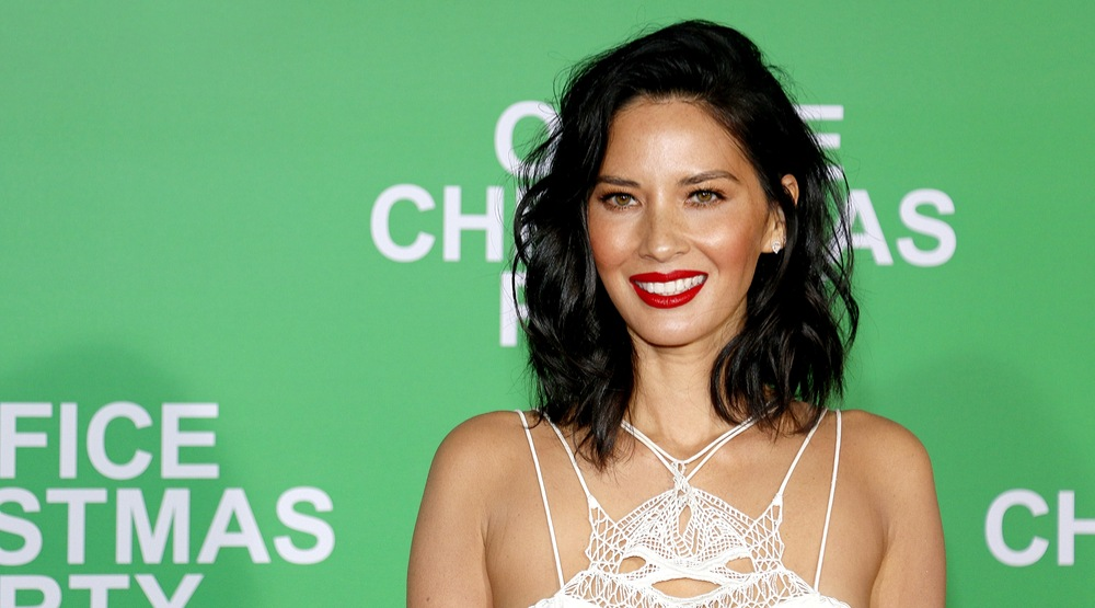 Olivia Munn at the Los Angeles premiere of 'Office Christmas Party' held at the Regency Village Theatre in Westwood, USA on December 7, 2016. (Tinseltown/Shutterstock)