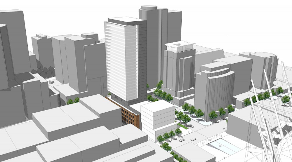 30-storey hotel and residence proposed for former Vancouver archdiocese headquarters