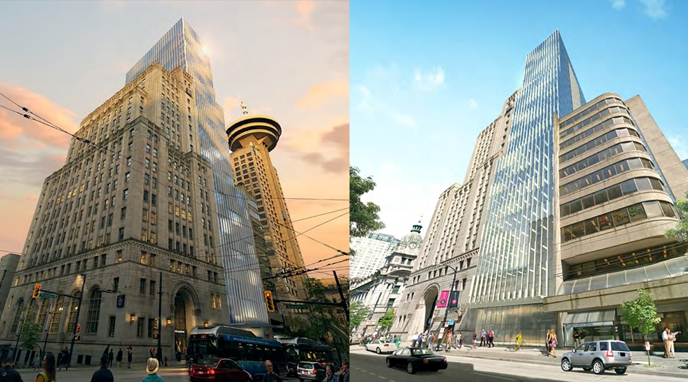 A tight squeeze: 28-storey office tower proposed for downtown Vancouver