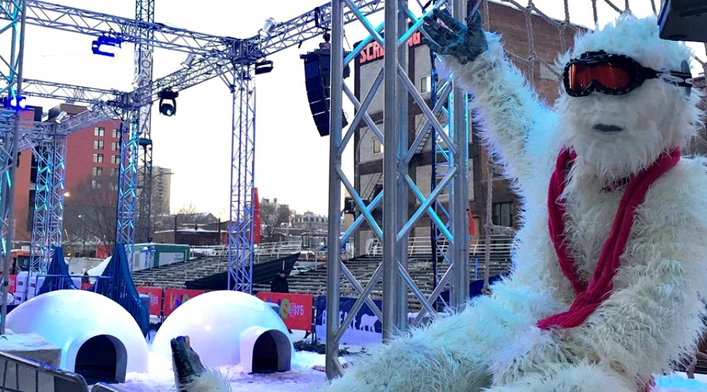 Igloofest is hosting a free Nordik Games event this February