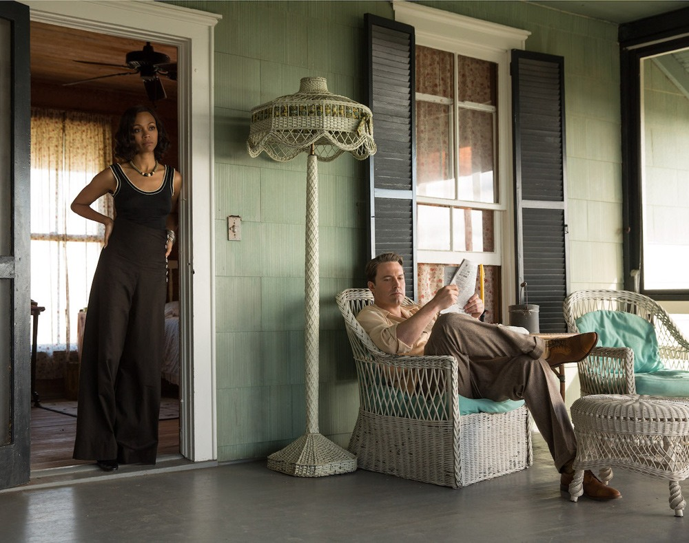 Zoe Saldana and Ben Affleck in Live By Night - Film Review for Daily Hive by Dan Nicholls