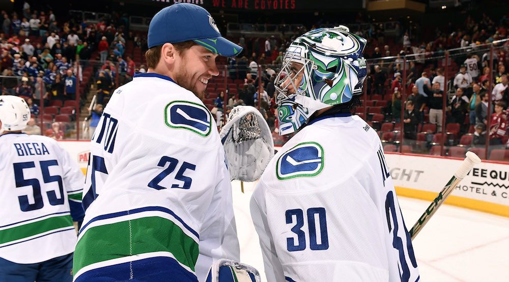 When will Miller pass the torch to Markstrom in Canucks crease?