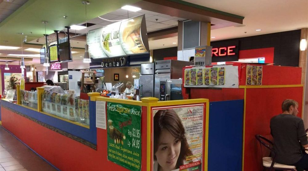 You can buy the Kingsgate Mall snack stand for $54,000
