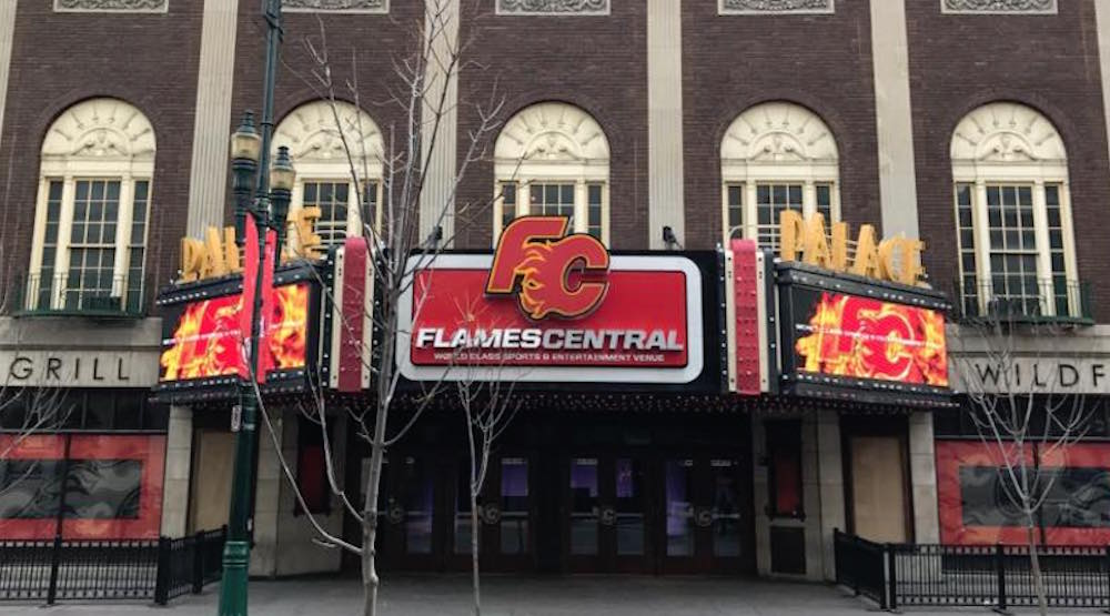 Calgary's Flames Central changing name back to The Palace Theatre in February