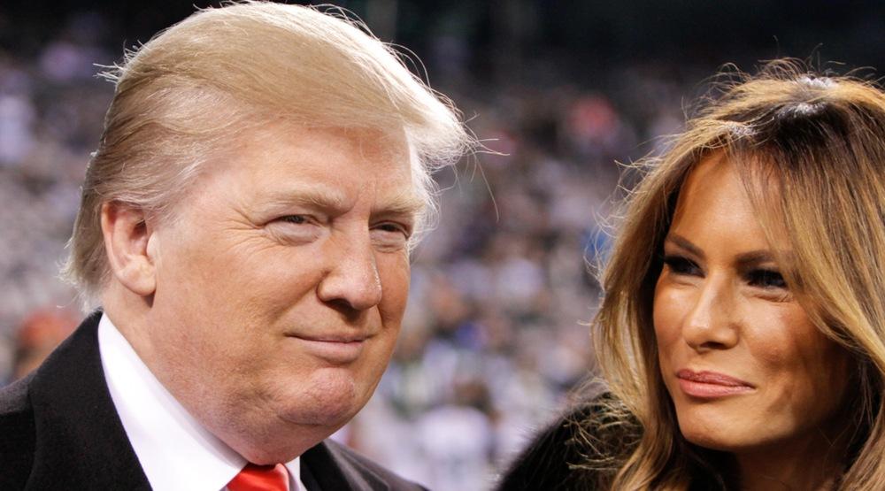 Donald trump and wife melania shutterstock