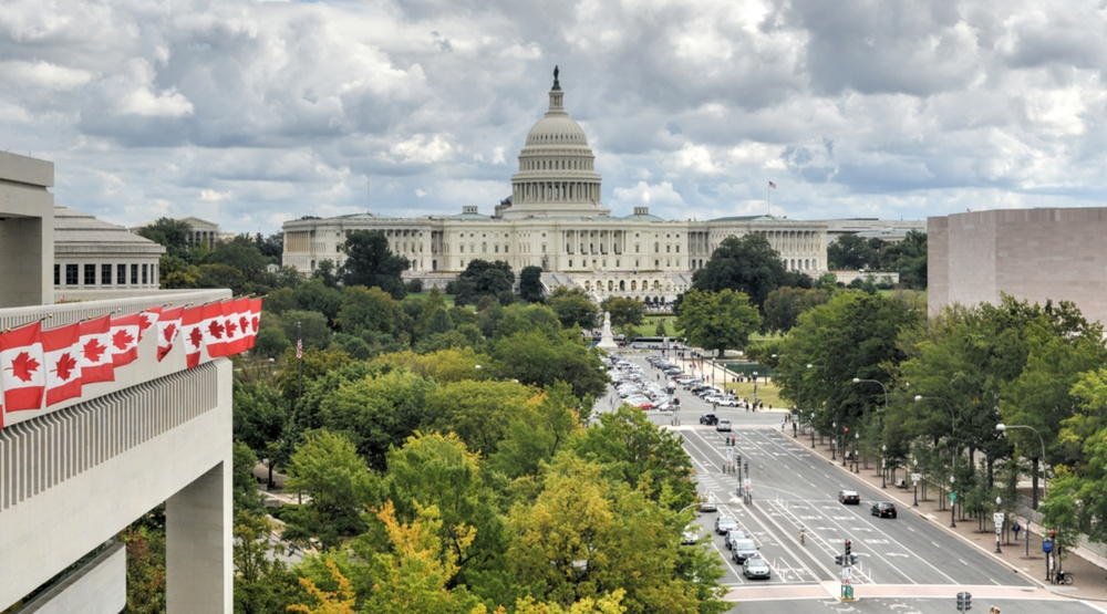 The Canadian embassy looks straight down Pennsylvania Avenue, towards Capitol Hill in Washington DC (Felix Lipov/Shutterstock)