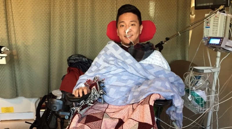 Paralyzed Vancouver man thanks crowdfunding for $93,000 support