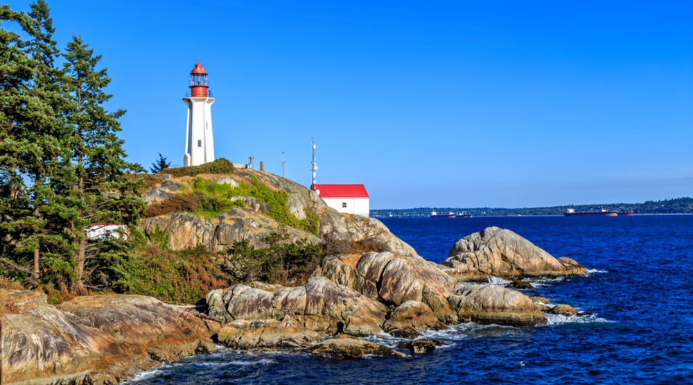 Lighthouse Park in West Vancouver (JamesChen/Shutterstock)