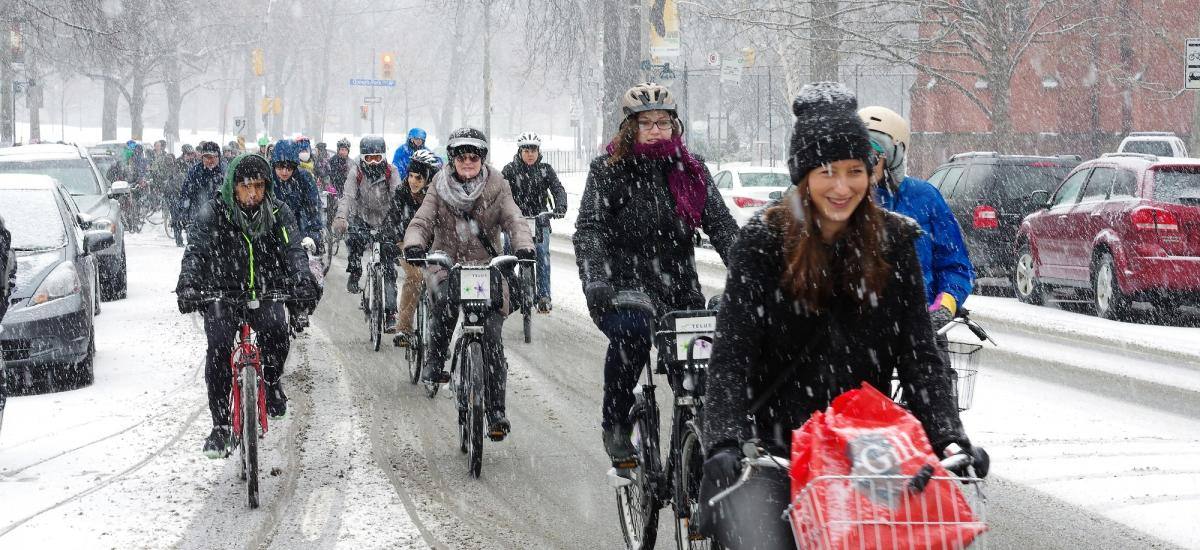 You can join winter cyclists on the 'Coldest Day of the Year Ride' next month
