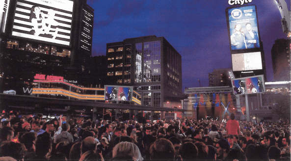 Yonge-Dundas Square is getting a $3.5 million upgrade this summer