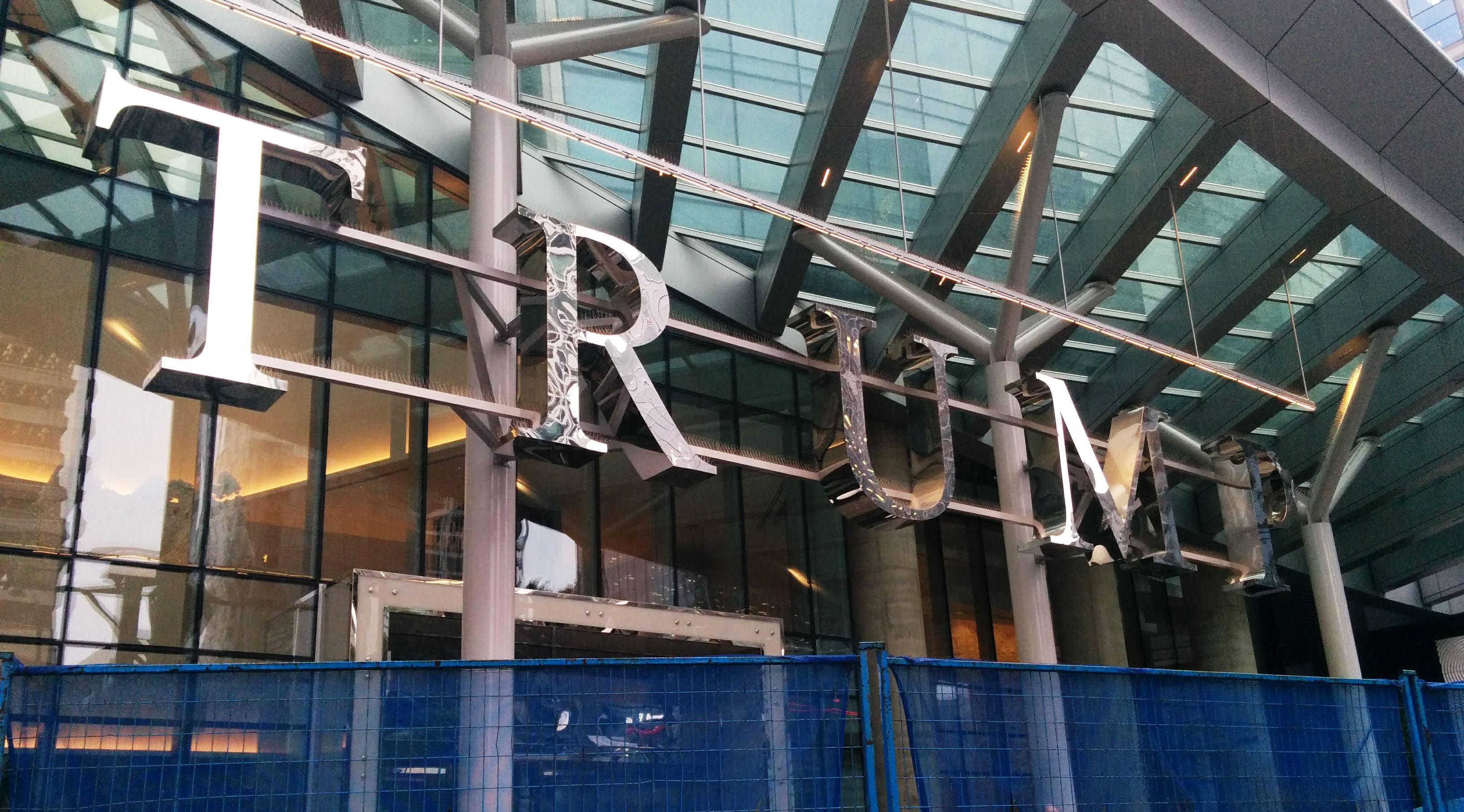 Trump Tower Vancouver developers suing construction company