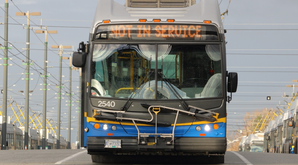 UPDATE: Traffic returns to normal after being blocked by down trolley wires near Commercial and Broadway