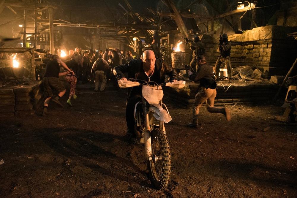 Vin Diesel on a motorbike - xXx 3