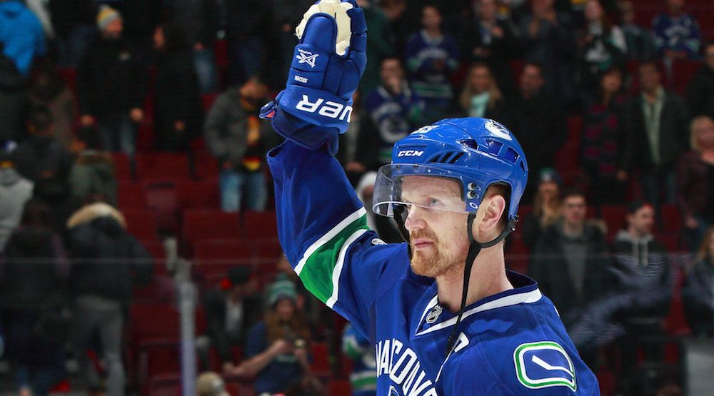 Henrik eyes 1000 points as Canucks face Luongo, Panthers