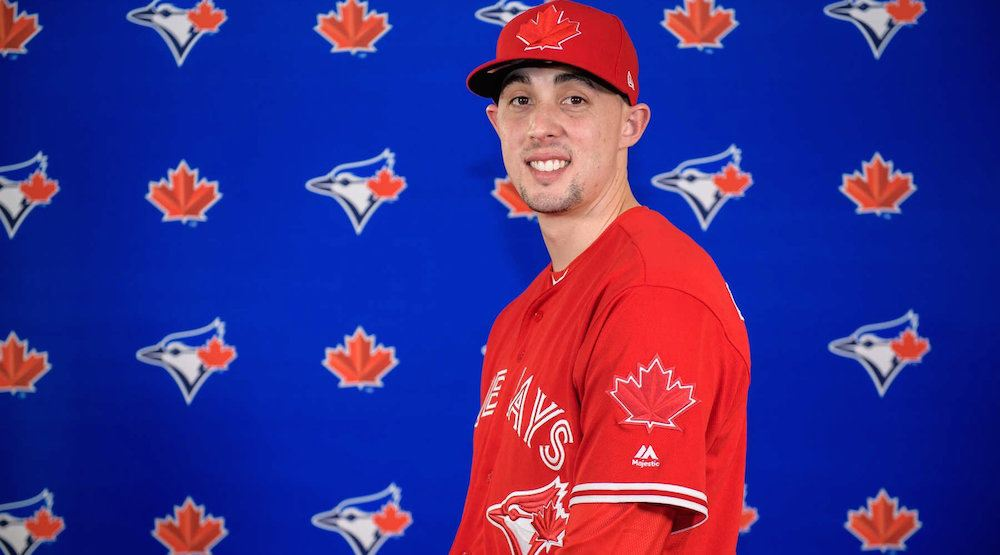 Aaron sanchez blue jays jersey