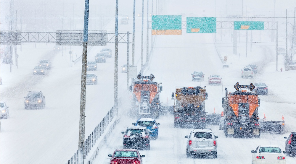 There were more than 400 collisions reported in the GTA yesterday