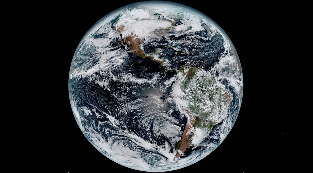 Breathtaking new photos of Earth captured by NASA and NOAA's weather satellite