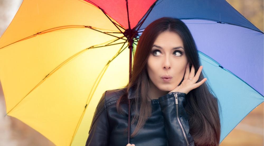 Woman with an umbrella nicoleta ionescushutterstock