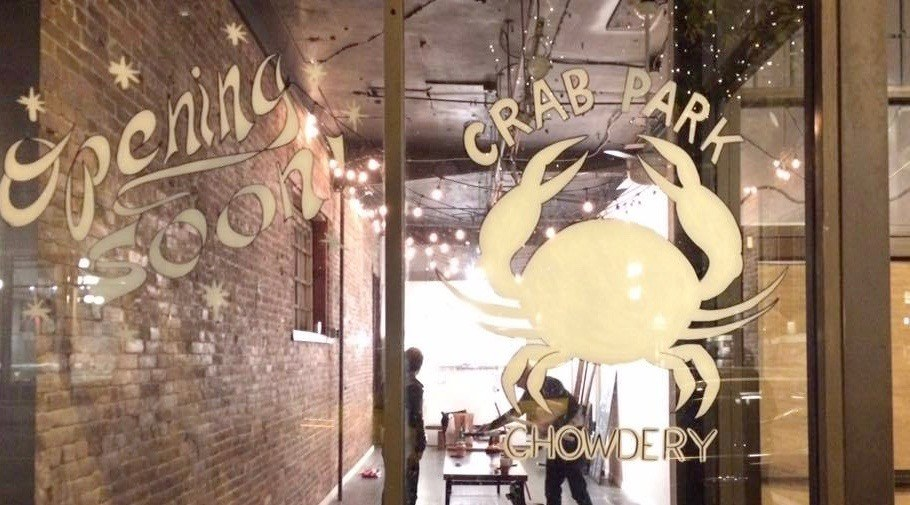 Crab Park Chowdery: Home made chowder, soup, and cheese-lined bread bowls in Gastown