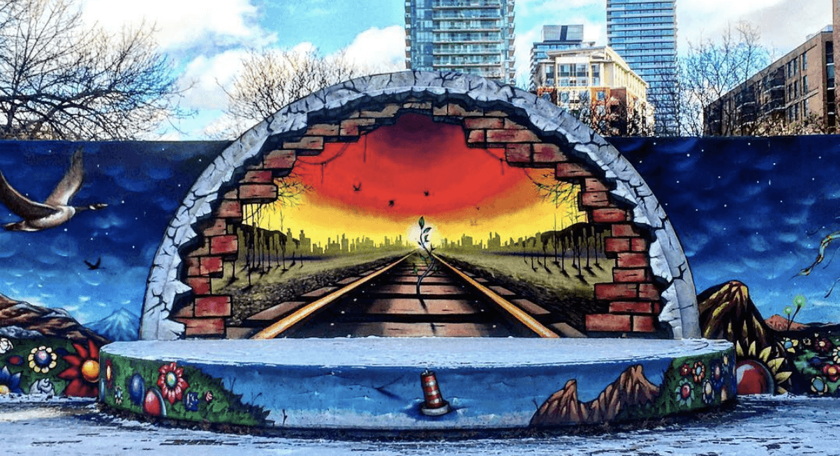this map shows you where the best street art is in toronto daily