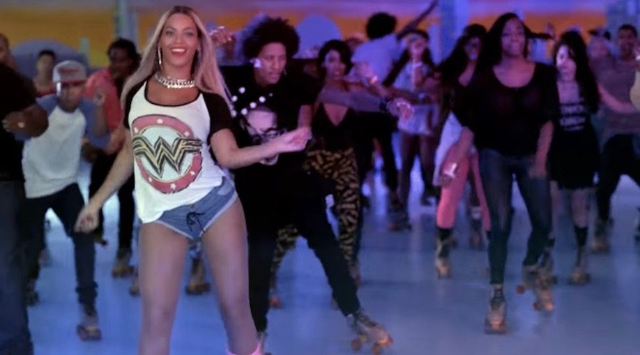 You can skate to Beyonce all night long at Harbourfront Centre this weekend