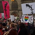 Canadian protest sign
