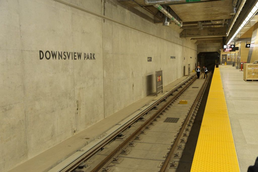 downsview park subway station