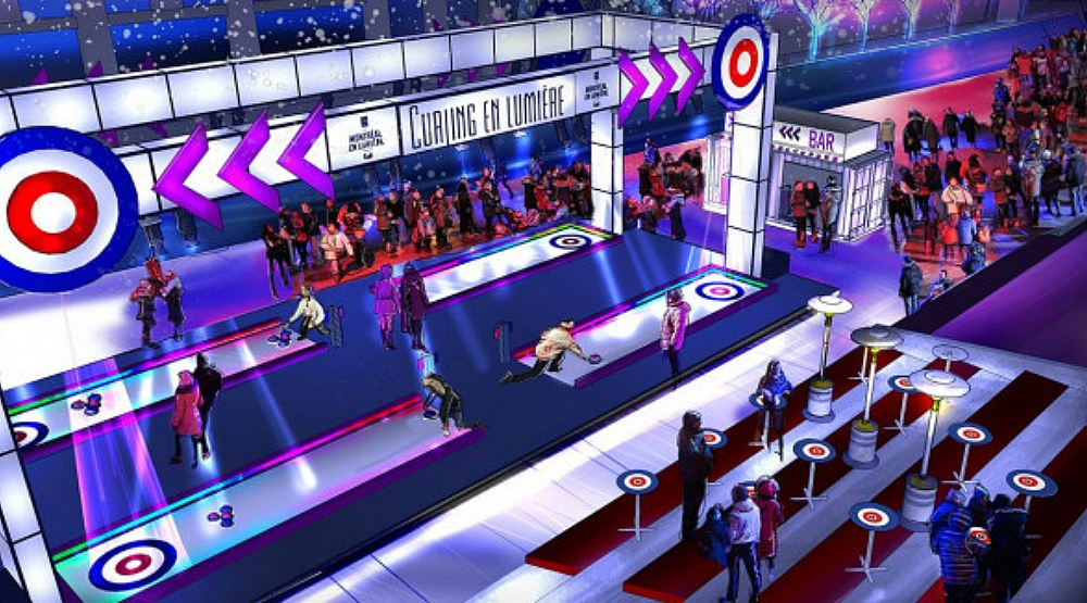 Curling meets disco at this special 375th anniversary event