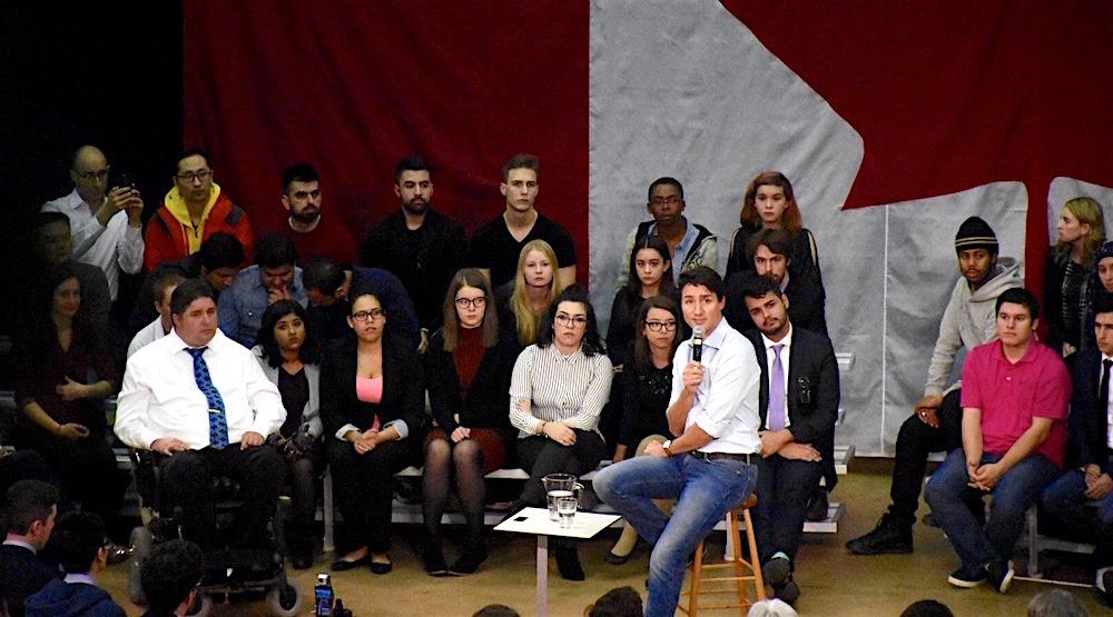 Trudeau uofc1